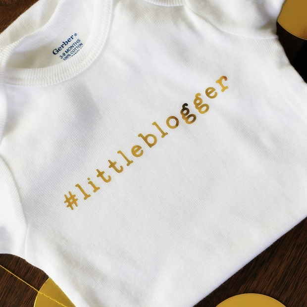 Ginger Snap Crafts Personalized Onesie Baby Shower