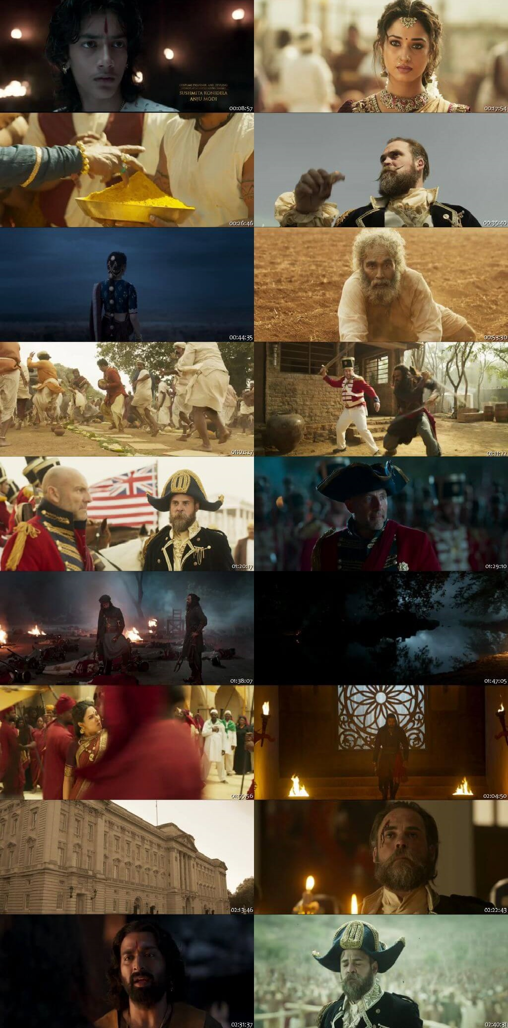 Screen Shot Of Sye Raa Narasimha Reddy  2019 Full Movie Free Download HD 720P Watch Online