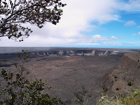 Kilauea Caldera, from Kilauea Overlook
