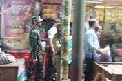 Danramil 03 Serengan Sidak Penerapan Prokes di Pasar Tradisional Harjodaksino