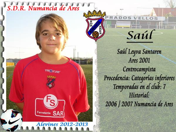 ADR Numancia de Ares. Saúl.