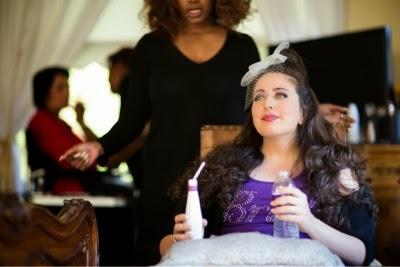 Makeup by Dana Spence. Hair by Kimya Crawford.