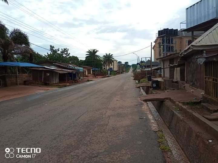 #SitAtHome Observed in Oko in Anambra state
