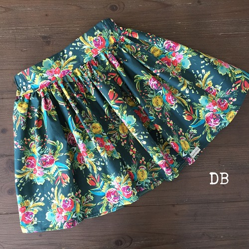 Handcrafted Fall Boho Skirt for Babies Girls Tweens by Daydream Believers Designs