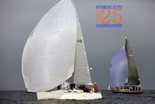 J/109 Tantivy sailing off Seattle