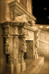 Fireplace, Fireplaces, Gallery, Interior, overmantels, Showroom, Surrounds, Travertine