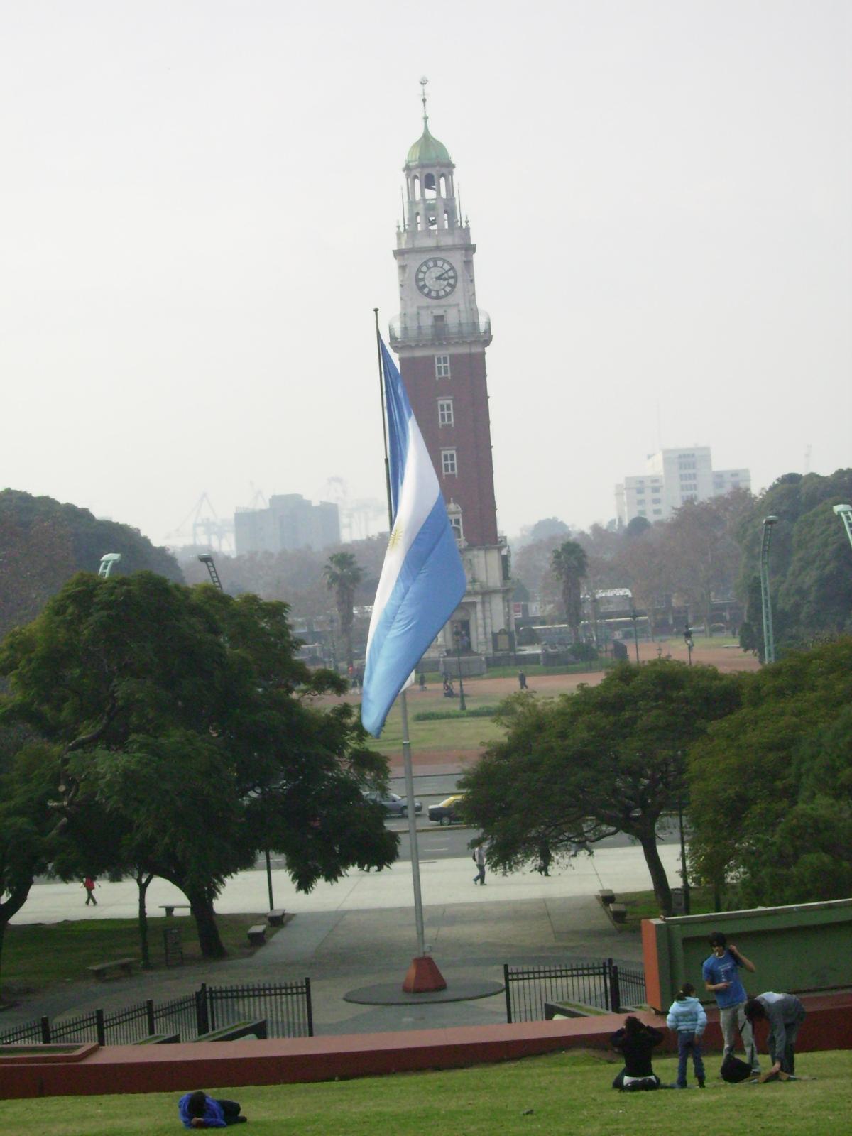 Praça em Buenos Aires