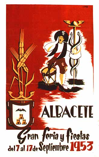 Cartel Feria Albacete 1953