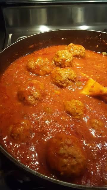 My Italian Meatballs