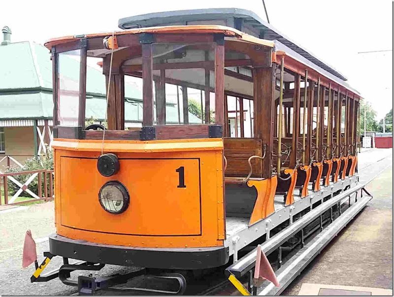 small tram