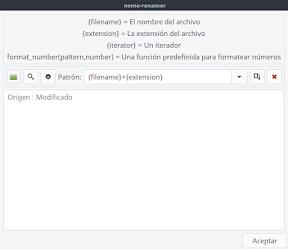 renombrar archivos en Linux. Ejemplo 1.
