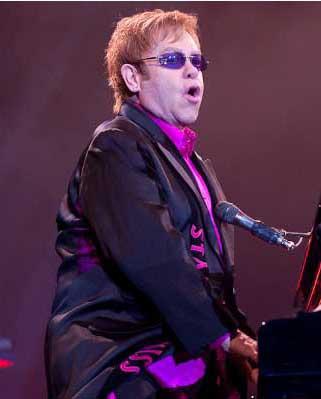 Звезды на концерте Элтона Джона в Киеве