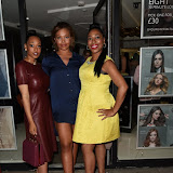 OIC - ENTSIMAGES.COM - Imani Evans, Stephanie Nala and Susan Evans at the Anesis  TV launch party at Clapham Common London 20th June 2915 Photo Mobis Photos/OIC 0203 174 1069
