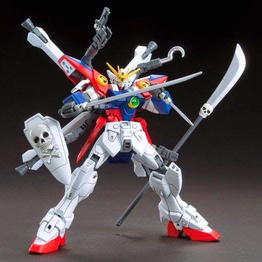 Vũ khí Gundam HG Build Custom 012 Skull Weapon cho Gundam tỏa sáng