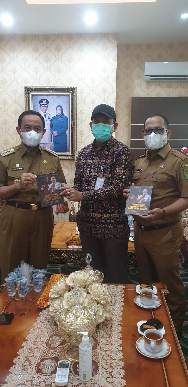 Monev KI Riau, Kabupaten Inhil Perkuat PPID Desa dengan Perda
