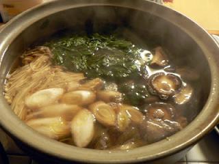 タラの白子鍋