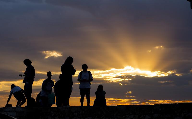 tramonto di Libero