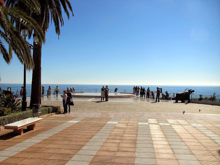 Ruta por Andalucía. Balcón de Europa, Nerja