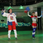 Sál v tuto chvíli řičel nadšením stejně jako hokejové arény při mistrovství světa