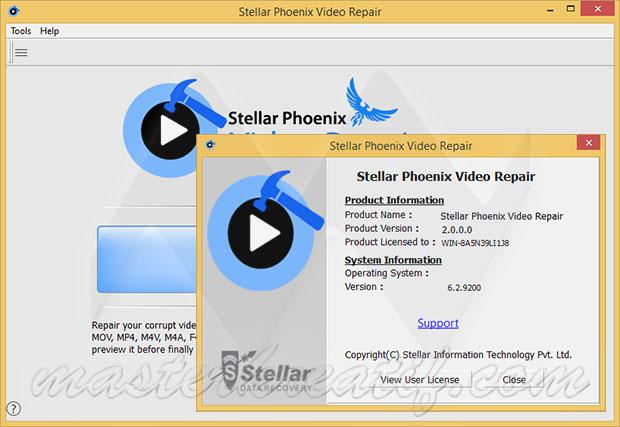 Stellar Phoenix Video Repair 2.0