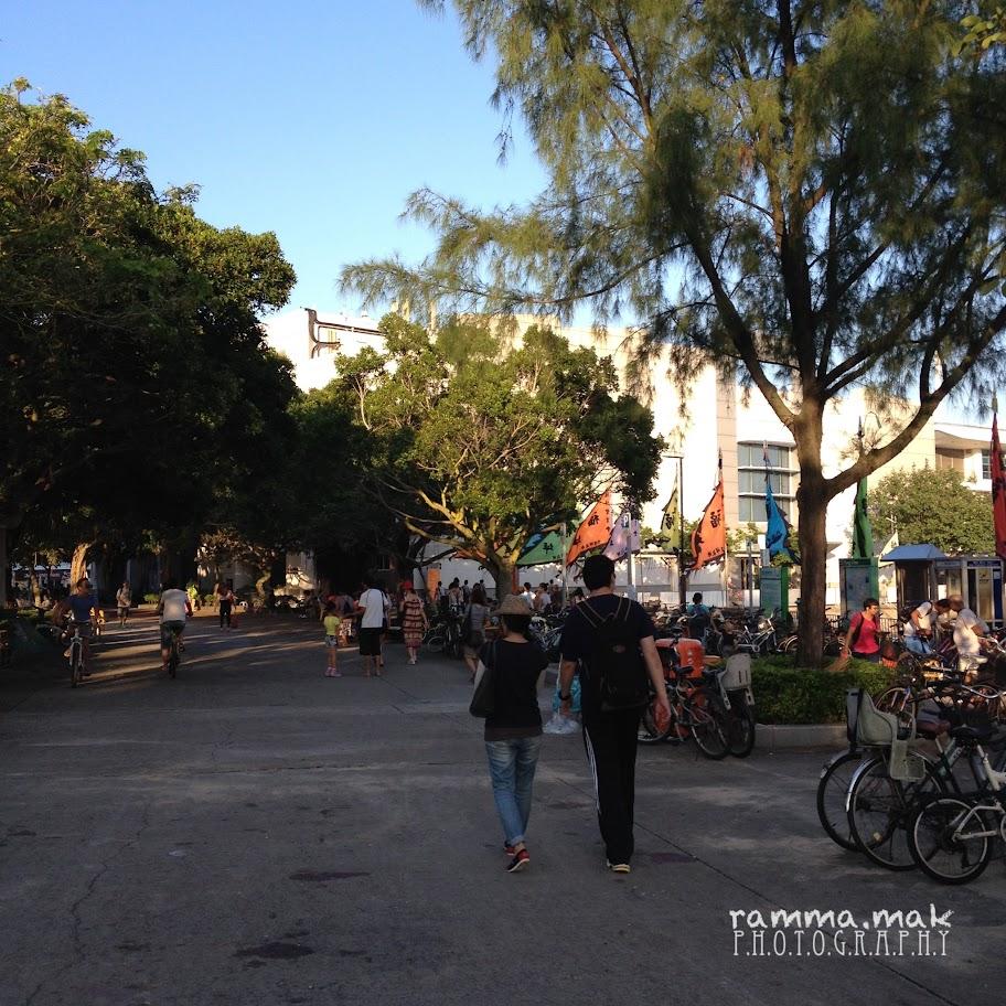 坪洲碼頭對廣場