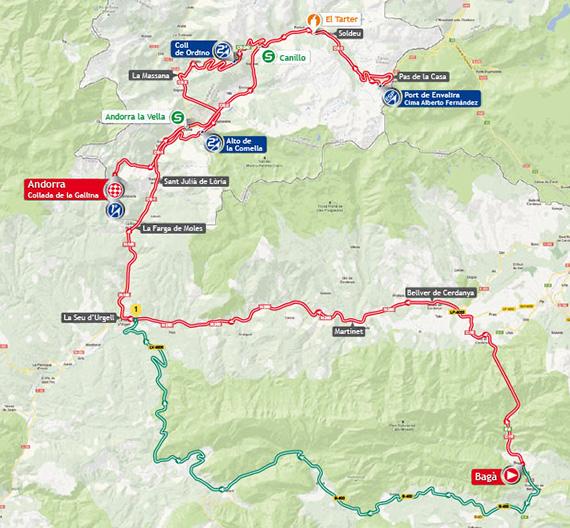 La Vuelta 2013. Etapa 14. Bagà - Andorra. Collada de la Gallina. @ Unipublic