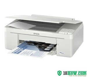 How to reset flashing lights for Epson ME-320 printer