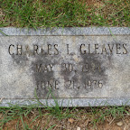 Charles L. Gleaves Son of Robert Taylor & Marie Gleaves Evergreen Cemetery - Roanoke, Virginia