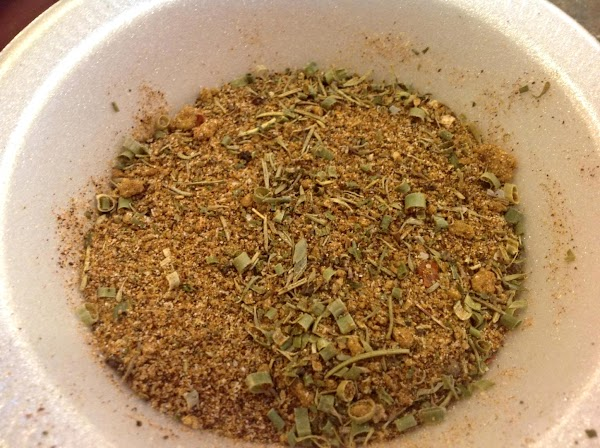 This is what the blended spice mixture looks like. You can use your own...