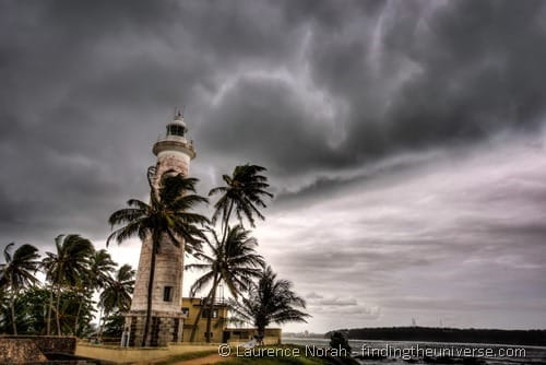 Galle lighthouse HDR Sri Lanka
