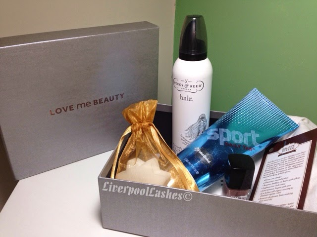 love me beauty box december 2014 liverpoollashes