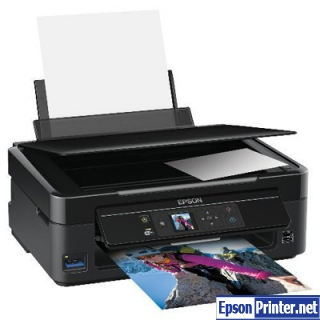 How to reset Epson SX435 by tool