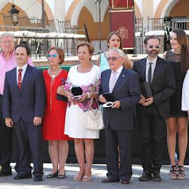 Entrega distinciones Feria Montijo 2015