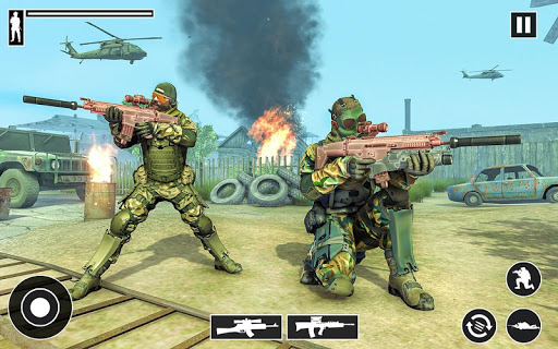 Real Commando Shooter: FPS Shooting Games Free apktram screenshots 4