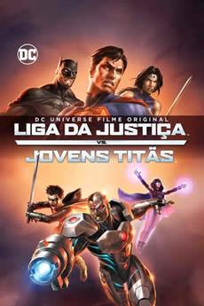 Baixar Filme A Liga da Justiça e os Jovens Titãs Torrent Grátis