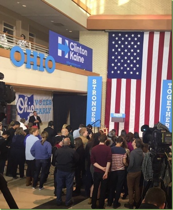 bill clinton ohio rally