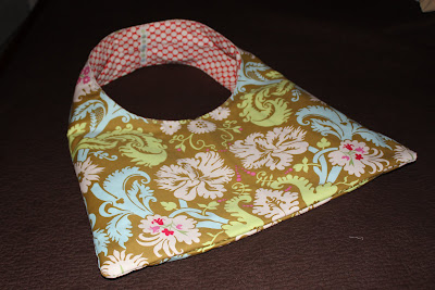 Nappy Bag in Amy Butler's Lotus Fabric, sewn by Becky Laswell