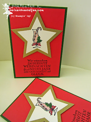 Stampin' Up! Weihnachten, Christmas, Making Spirits Bright, Zauber der Weihnacht, Bright & Beautiful, Stars, Sterne