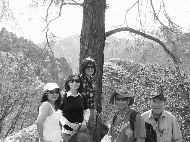 Hiking in Pinnacles Natl Park