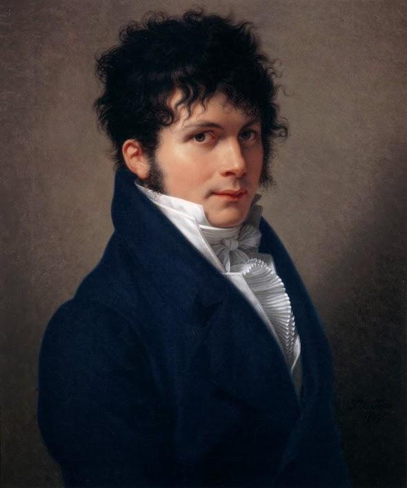 François-Xavier Fabre - Portrait of a Man