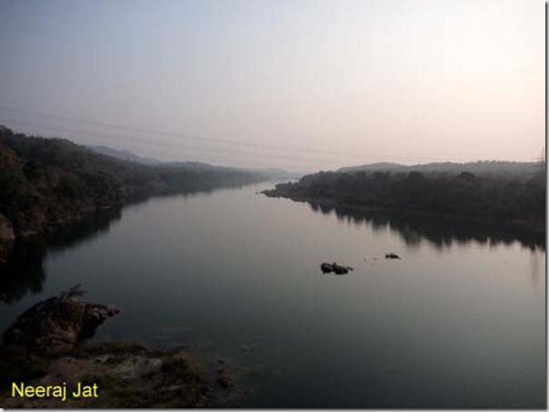 Tawa River in Madhya Pradesh