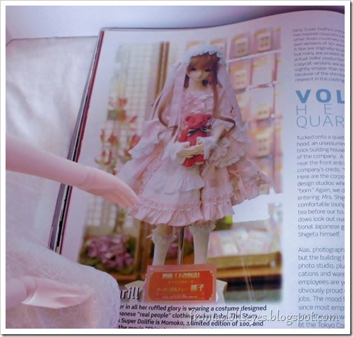 Bjd Lifestyle: Haute Doll Magazine, The Bjd Issue? A really pretty doll dress