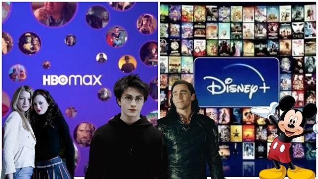 Briga de Gigantes HBOMAX vs Disney Plus entenda;