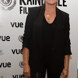 WWW.ENTSIMAGES.COM -     Tina Hobley   arriving at        World Premiere of Bonobo at the 22nd annual Raindance Film Festival in Vue Piccadilly, London September 25th 2014Feature length which follows a straight laced middle-aged widow as she attempts to remove her daughter from a hippy commune.                                               Photo Mobis Photos/OIC 0203 174 1069