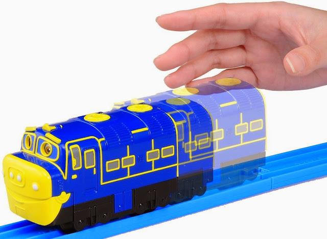 Tàu hỏa Chuggington Brewster chạy bánh đà, không dùng pin