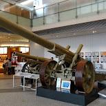 World War - Japanese artillery canons in Chiyoda, Tokyo, Japan