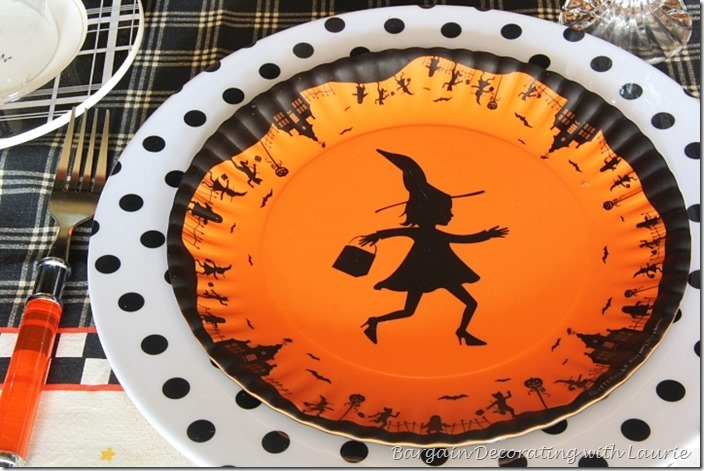 Plates for Halloween Table