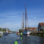 142-We varen terug over de Diepe Dolte en zetten koers naar de Nauwe Larts.