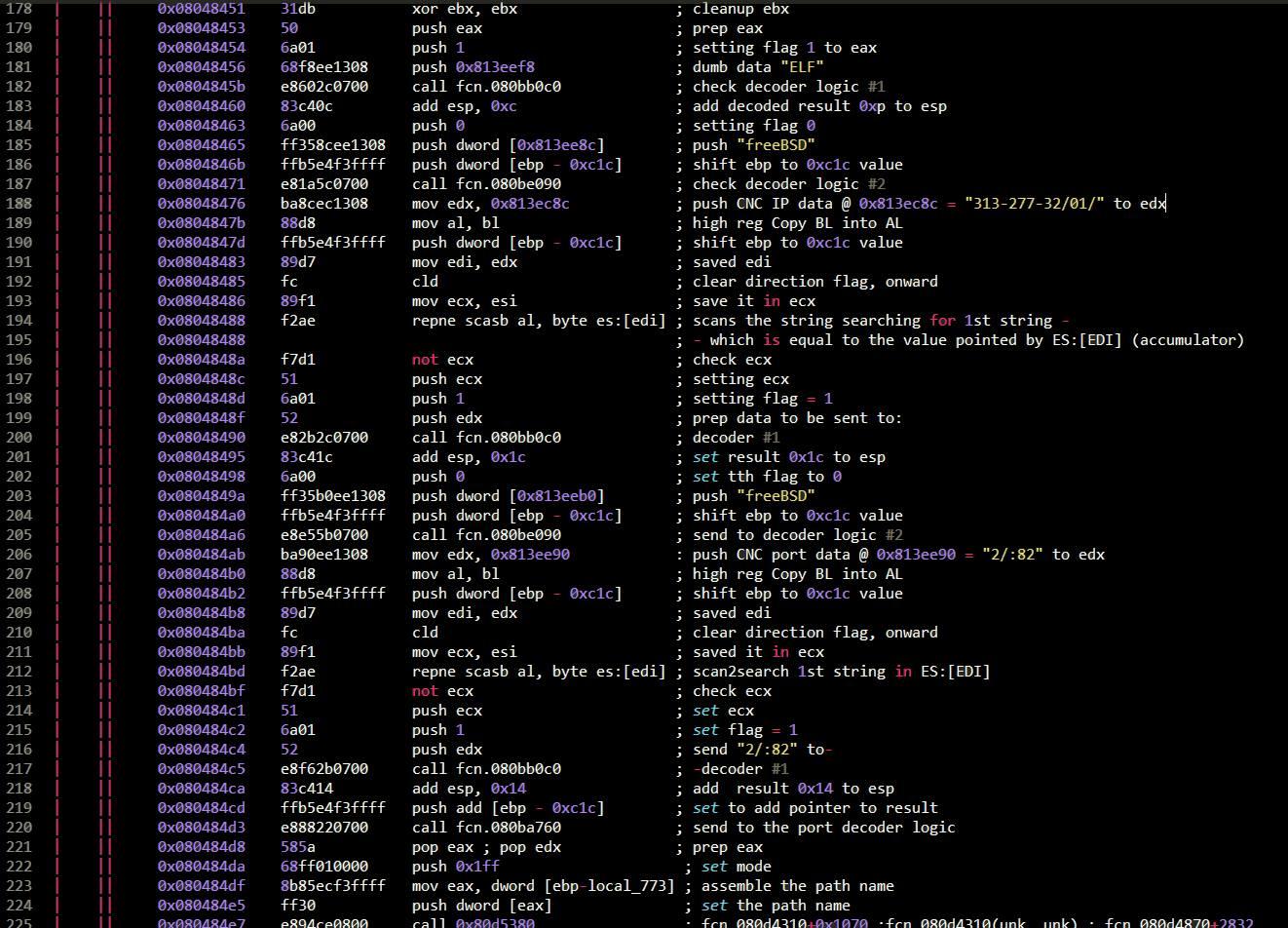 Linux/Elknot (Windows DDoS botnet, alias DnsAmp) - Page 6
