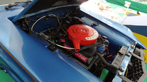 Hand built 1:8 1968 Ford Mustang engine